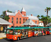 St. Augustine Combo - Beach Bus & Old Town Trolley