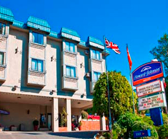 Exterior View of Howard Johnson Hotel - Victoria City Centre