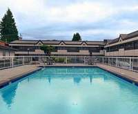 Outdoor Pool at Best Western Capilano Inn & Suites
