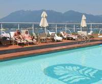 Outdoor Swimming Pool of Pan Pacific Vancouver - Canada Place