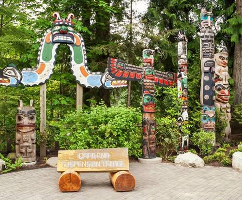 Capilano Suspension Bridge entrance