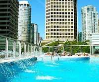 Outdoor Pool at Shangri-La Hotel Vancouver