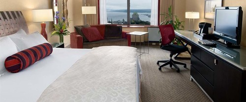 Room Photo for Loews Le Concorde Hotel Quebec