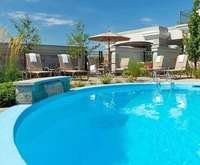 Outdoor Swimming Pool of Best Western Hotel L'Aristocrate