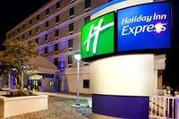 Exterior of Holiday Inn Express Richmond Downtown