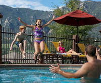 Outdoor Pool at Cheyenne Mountain Resort