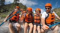 Family rafting in Bighorn Sheep Canyon in Colorado!