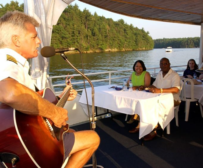 Musical Performance on the Wisconsin Dinner Cruise