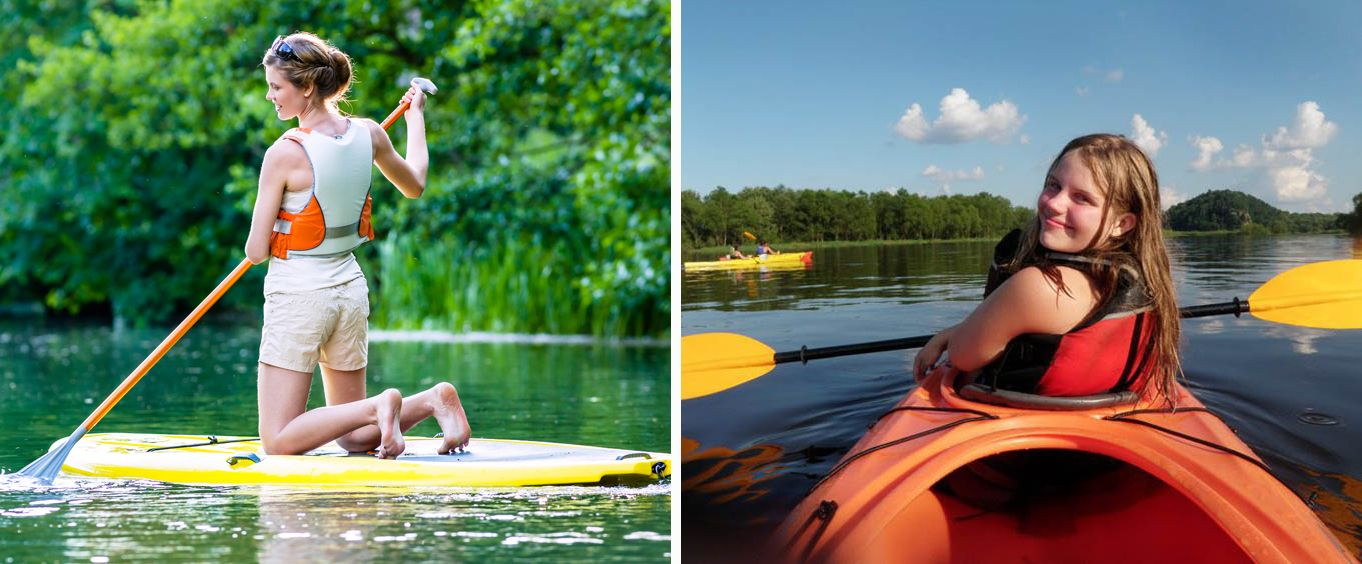 Wisconsin Dells Kayaking and Paddleboarding Adventure Tours