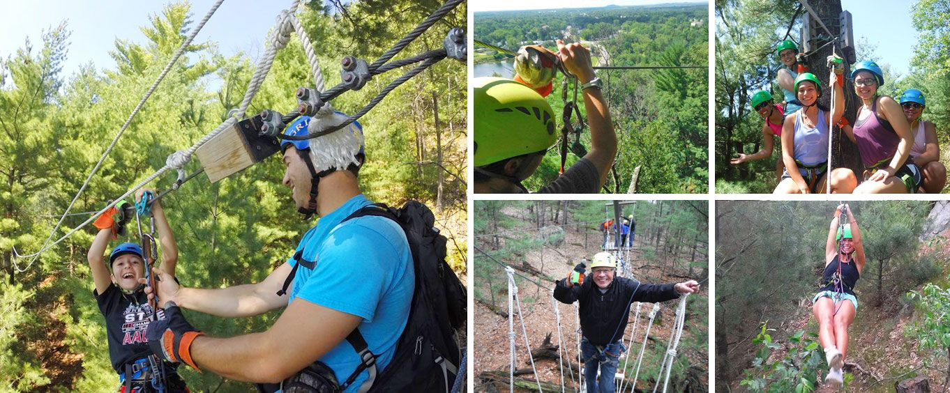 Incredible Family Fun with the Wisconsin Dells Zip Line Eco Tour