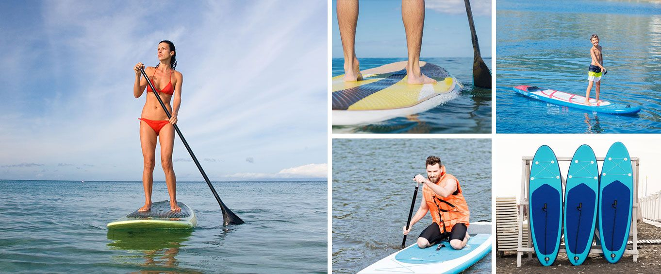 Stand Up Paddle Board Rental in Panama City Beach Collage
