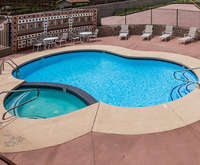 Outdoor Pool at Howard Johnson Inn - Flagstaff