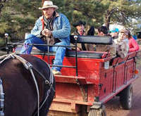 Wagon Ride Through Coconino Na...
