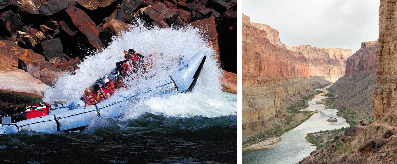 Adventure at the Grand Canyon Whitewater Adventure from Flagstaff