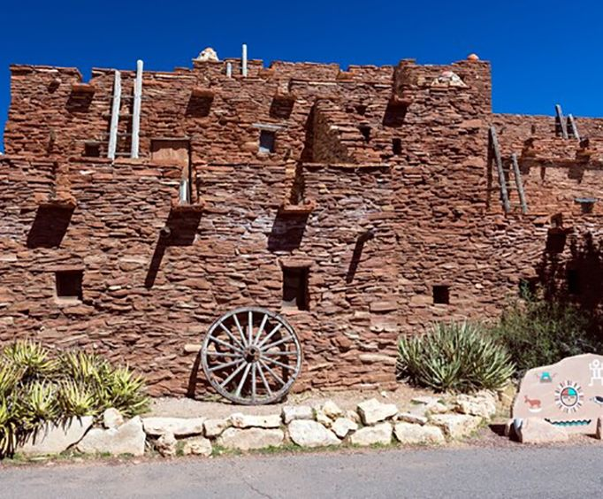 Historic Buildings on the Hopi Cultural and Archaeological Tour
