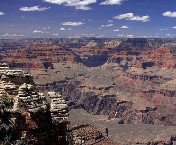 Incredible View on the Grand Canyon Day Hiking Adventure