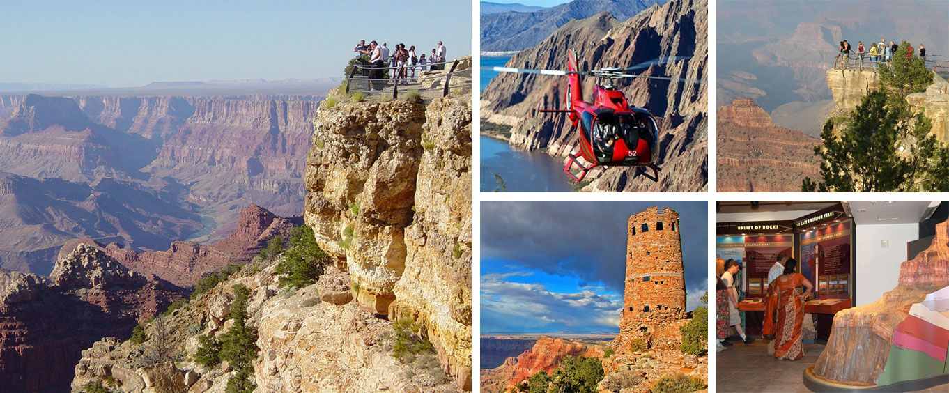 Enjoy the Grand Canyon South Rim from Flagstaff with Optional Helicopter Flight