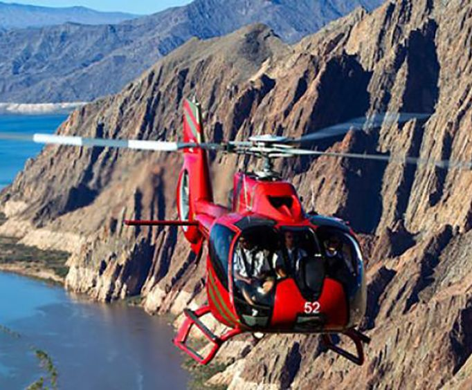 Soar Through the Canyon with a Helicopter Flight