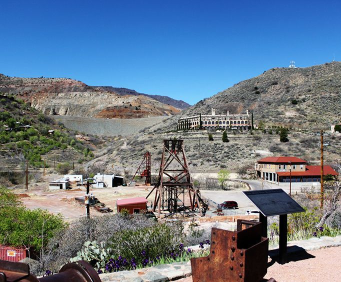 Ghost Town with the Spirit Walk Tour in Jerome Arizona