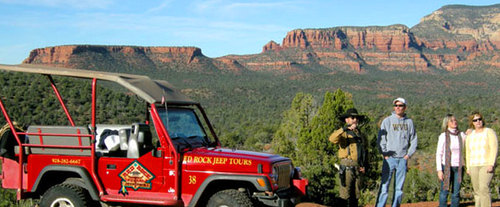 Sedona Overlooks & Cathedral Rock Jeep Tour