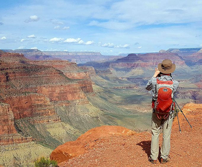 Scenic Views with the Grand Canyon Day Hiking Adventure