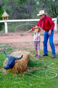 Take Part in Cowboy Games at Blazin' M Ranch!