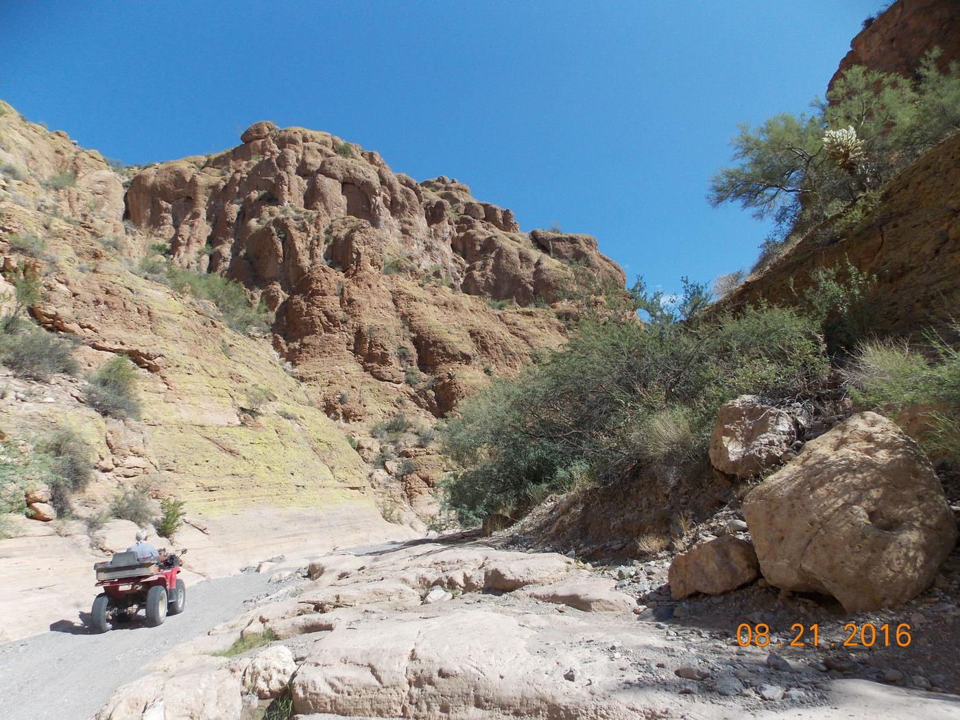 Box Canyon ATV Tour in Florence, Arizona