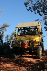 Little Rattler Jeep Tour from Sedona