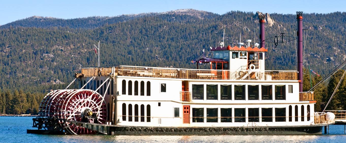 Lake Tahoe Sightseeing Dinner Cruises Aboard The Tahoe Queen