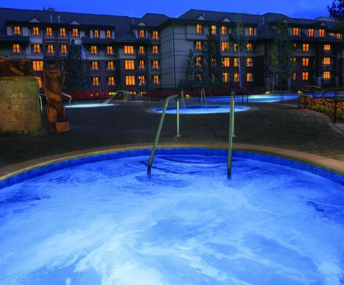 Marriotts Timber Lodge Hot Tub Photo
