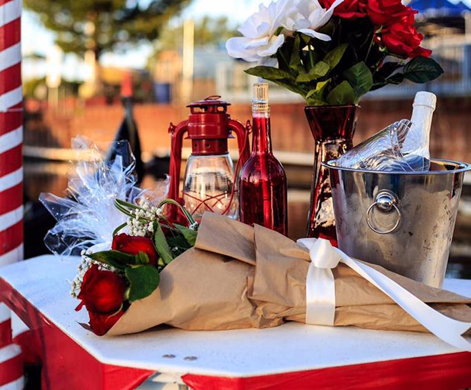 Flowers and Wine with Tahoe Amore Gondola Cruises