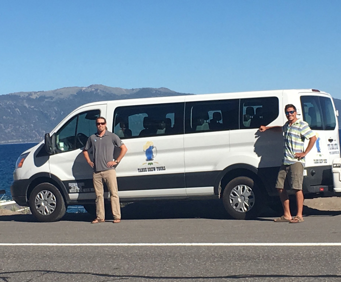 Shuttle for the Lake Tahoe Brewery Tours