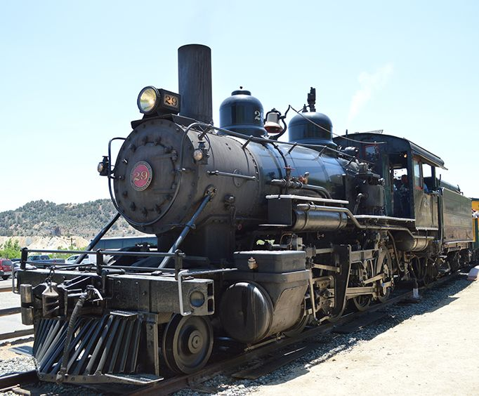 Steam Engine Trail with the Wild West Tour