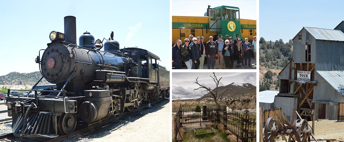 Experience the Wild West Tour from Lake Tahoe with Train Ride