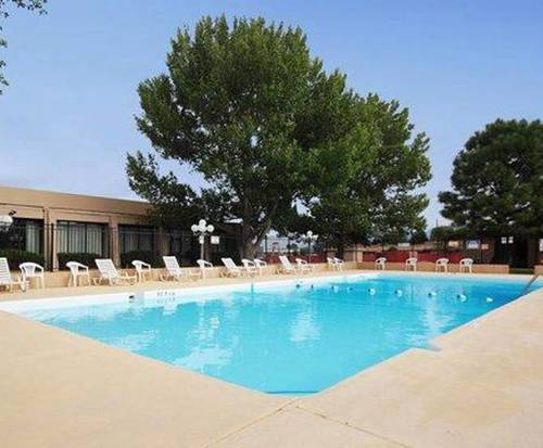 Outdoor Pool at Quality Inn Taos
