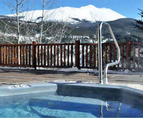 Outdoor Pool at The Lodge and Spa at Breckenridge