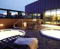 DoubleTree by Hilton Hotel Breckenridge CO Hot Tub Photo