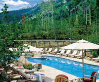 Outdoor Pool at Four Seasons Resort Jackson Hole