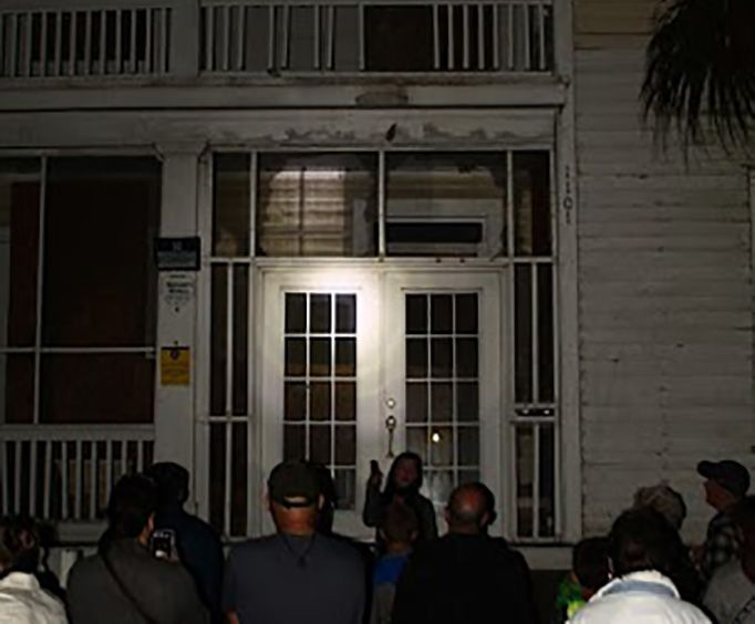 Group on the Galveston Ghost Tour