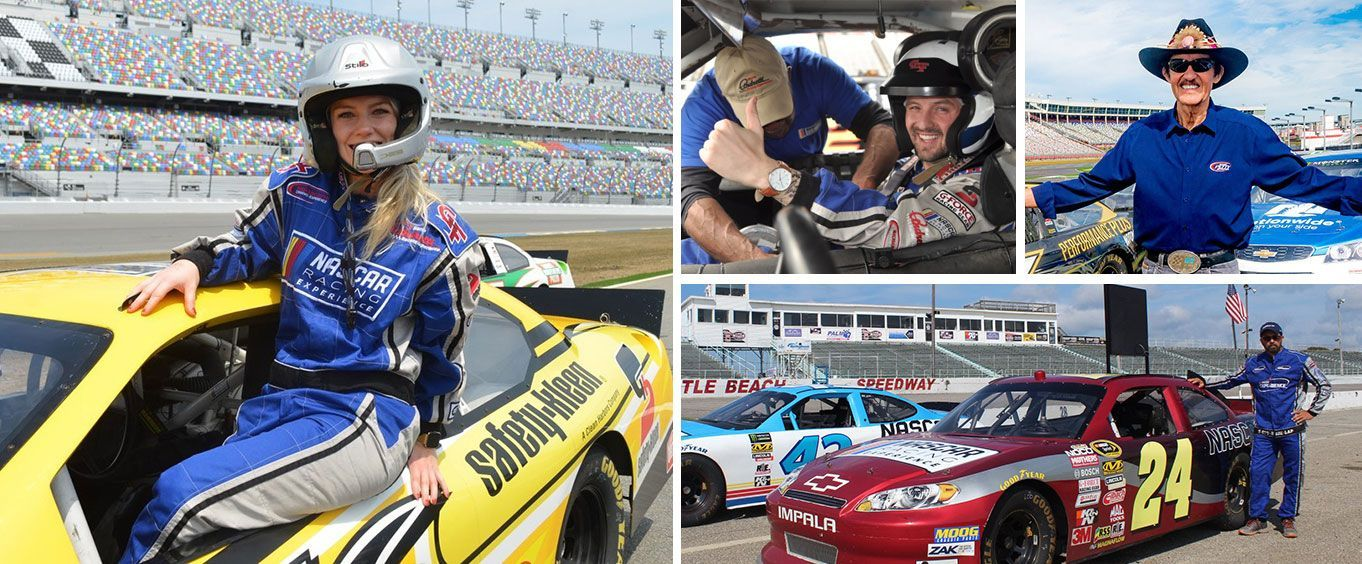 Richard Petty Driving Experience at Daytona International Speedway Collage