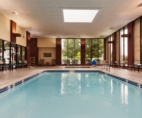 DoubleTree by Hilton Hotel Detroit - Dearborn Indoor Pool