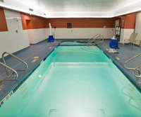 Crowne Plaza Downtown Detroit Indoor Swimming Pool