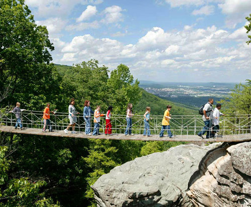 Rock City at Lookout Mountain Attractions, hike