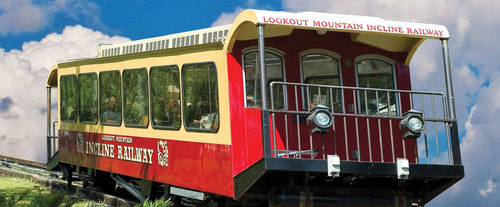 Incline Railway at Lookout Mountain Attractions