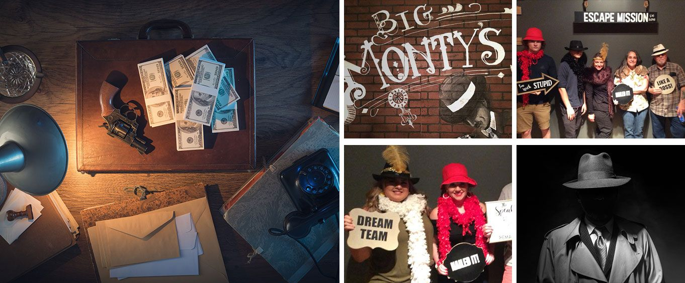 Speakeasy Escape Room in Chattanooga Collage