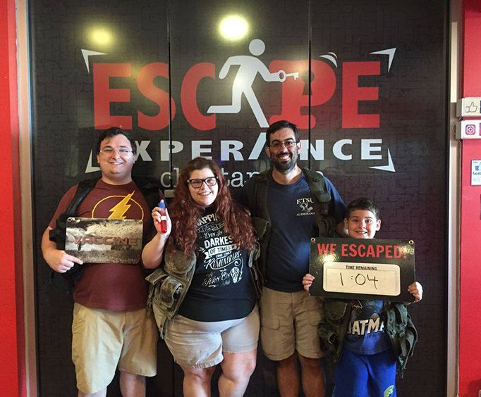 Group Enjoyed the Vaccine Search for the Cure Escape Experience