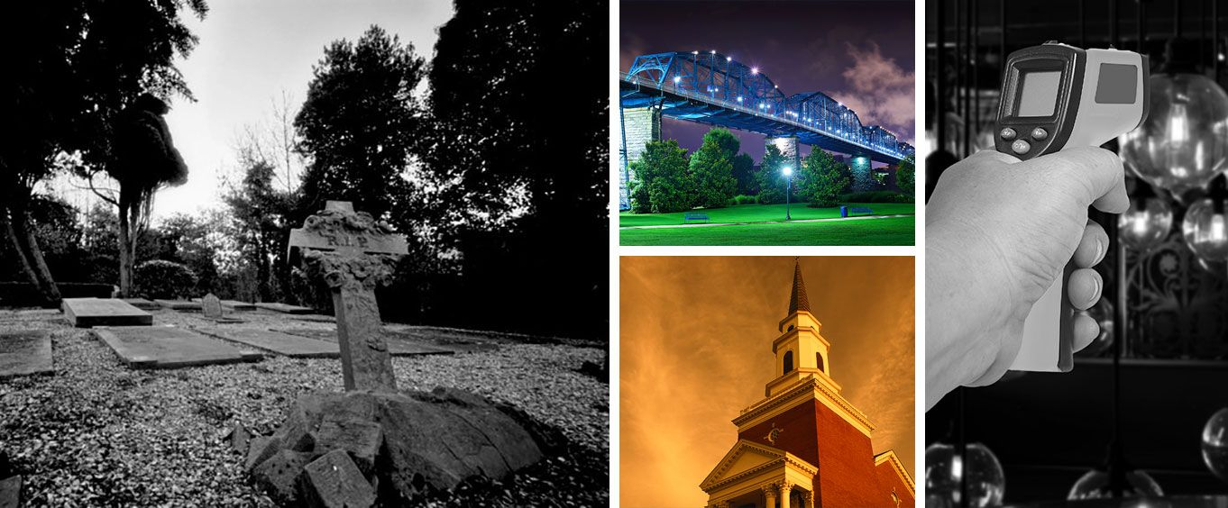 1.5 Hour Cemetery Ghost Hunt in Chattanooga Collage
