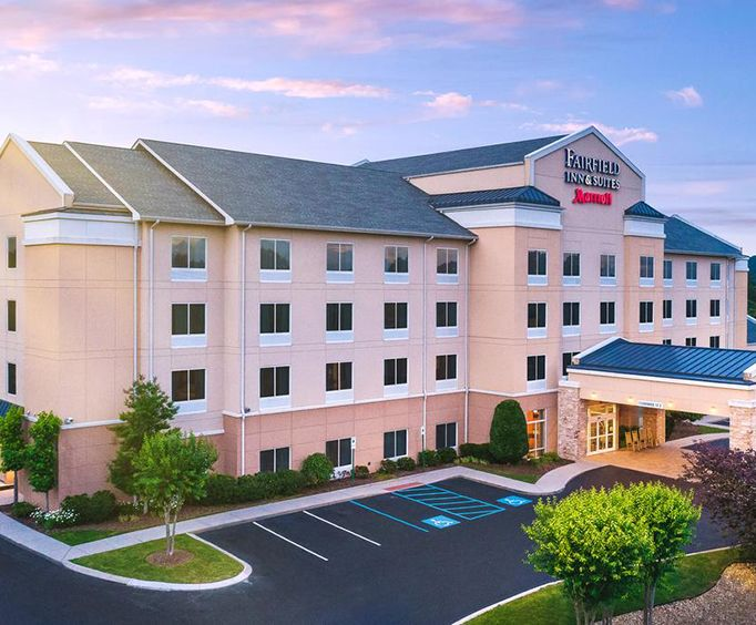 Exterior View of Fairfield Inn  Suites by Marriott Chattanooga