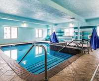 Comfort Suites Airport on Meridian Indoor Pool