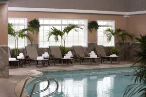 Doubletree Tulsa Downtown Indoor Swimming Pool